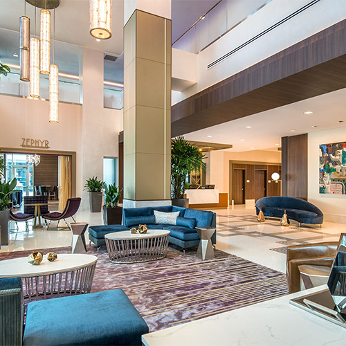 Project Thumbnail: Embassy Suites Pioneer Square